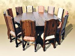 rustic kitchen tables and chairs sets with round dining room intended for home wood table canada