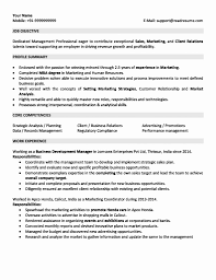 Sales Marketing Cv For 5 Years Experience In Marketing 3 Resume Format Resume