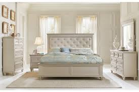 king size panel bed. Celandine King Size Panel Bed, Dresser, Mirror \u0026 1 Night Stand Bed