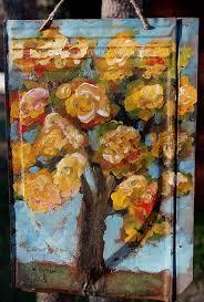 winjimir autumn tree painting metal roof