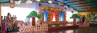 Krishna Theme Decoration