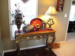 narrow foyer table. Decorating A Small Entryway Console Tables Beautiful For Entryways With Carving Table Also . Narrow Foyer I