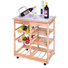 White Kitchen Cart With Granite Top Kitchen Carts Rolling Cart With Drawers For Kitchen White Granite