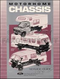 ford f service manuals shop owner maintenance and repair faxon 1991 ford motorhome chassis service guide original