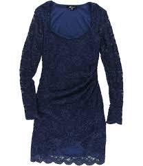 Jump Apparel Womens Lace Bodycon Dress