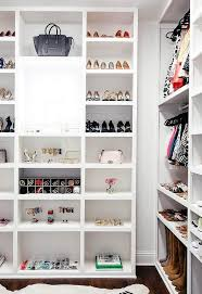 walk in closet jewelry and bag display shelves