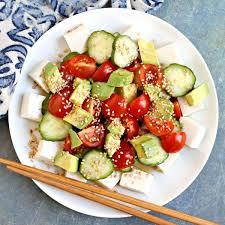 silken tofu salad vegan and gluten