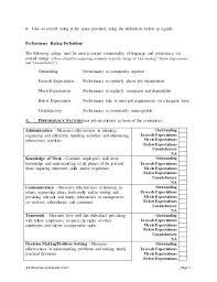 Advertising Executive Job Description Job Performance Evaluation