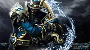 dota 2 kunkka pirates warriors fantasy games