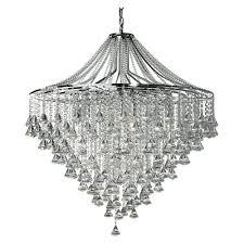 3497 7cc dorchester 7 light crystal chandelier