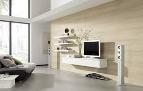 Wall Tv Decoration Awesome Tv Wall Mount Idea In Impressive Neutral Wallpaper For