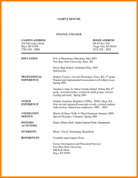 Home Health Aide Resume Summary No Experience Objective Examples
