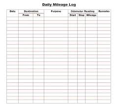 Mileage Report Templates Lab Book Template Lab Log Book Template Mileage L Vehicle For Free