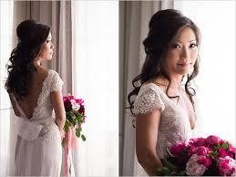 getting ready wedding romantic wedding hair and makeup ideas