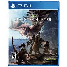 Amazon.com: Monster Hunter: World - PlayStation 4 Standard Edition: Capcom  U S a Inc: Video Games