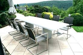 medium size of metal mesh outdoor dining table round and chairs contemporary patio furniture modern