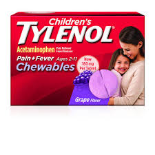 Jr Strength Acetaminophen Dosage Chart Childrens Tylenol Chewables 24ct