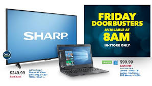 Best Buy Black Friday Sale Today: $99.99 Lenovo Laptop and $249.99 55-inch Sharp Smart TV