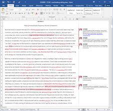 Beispiel Englisch Korrektur Der Arbeit