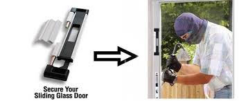how to secure sliding glass doors