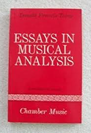 essays in musical analysis volume symphonies sir donald  essays in musical analysis supplementary chamber music