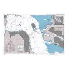 Admiralty Chart 588 San Francisco Bay Golden Gate To Alameda