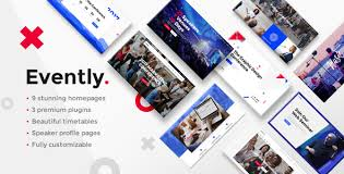 Modern Website Templates Adorable Evently A Modern MultiConcept Event And Conference Theme Website