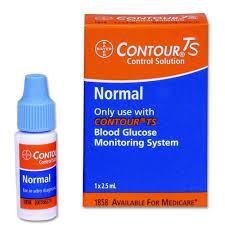 Контрольный раствор для глюкометра one touch select контур тс  Контрольный раствор для глюкометра Контур ТС