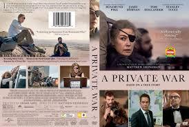 A Private War DVD Cover