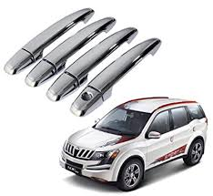 auto pearl chrome door handle latch cover mahindra xuv500