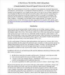 Apa Research Proposal Sample Apa Research Proposal Template Beautiful 12 Research Proposal