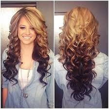 Hairstyle Curls ombre curls hairstyles and beauty tips long hairstyles 1696 by stevesalt.us