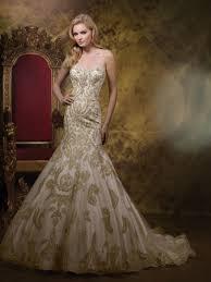 gold wedding dress dresscab