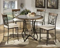 Ashley Furniture Kitchen Table Sets Ashley Signature Design Hopstand Round Counter Table With Steel