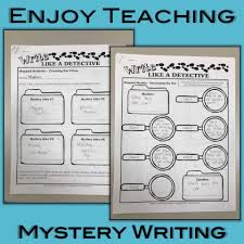 How To Write A Children S Story Template Mystery Writing For Kids A Case For Reading And Writing