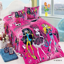 monster high twin bed sheets mavelous monster high girls cotton bedding set