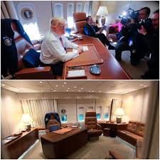 air force 1 office. Next To The Oval Office, Trump\u0027s Private Air Force One Office Is Probably Most Significant Quarters For President. This Small May Appear 1