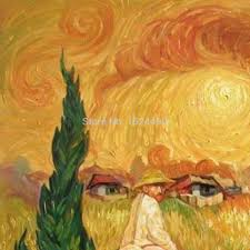 hand painted high q world top famous paintings vincent van gogh self portraits oil painting on canvas wall art for living room in painting calligraphy