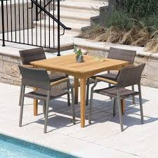 teak patio table melbourne 3 ft 4 in