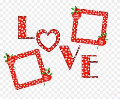valentines day frame png image background frames love photo png 490219