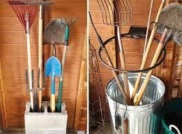 clever garden tool tips garden gate