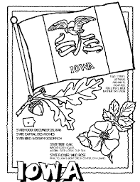 Small Picture Iowa State Symbol Coloring Page by Crayola Print or color online