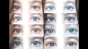 Freshlook Lenses Colors Chart Color Contacts All 12 Freshlooks Color Contact Lenses