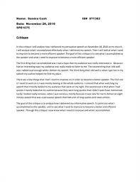 speech critique essay example essays speech critique essays speech critique papers