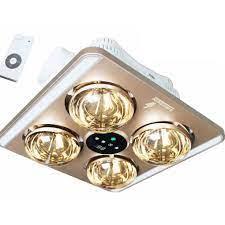 Đèn sưởi 4 bóng Heizen HE9 Âm trần LED (Điều khiển từ xa) - Legatop