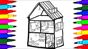 Bathroom Bedroom Dinning Room Coloring Pages L Kids Coloring