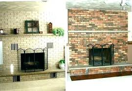 painted fireplace ideas before and after painted brick fireplace ideas painting before and after pictures of