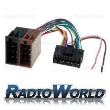 sony 16 pin car stereo radio iso wiring harness connector adaptor sony 16 pin wiring harness image is loading sony 16 pin car stereo radio iso wiring