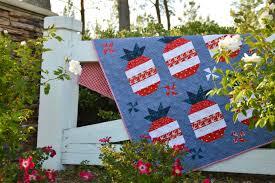Star Spangled Pineapple Quilt & pineapple quilt 2 Adamdwight.com