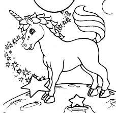 Unicorn Coloring Pages For Kids At Getdrawingscom Free For